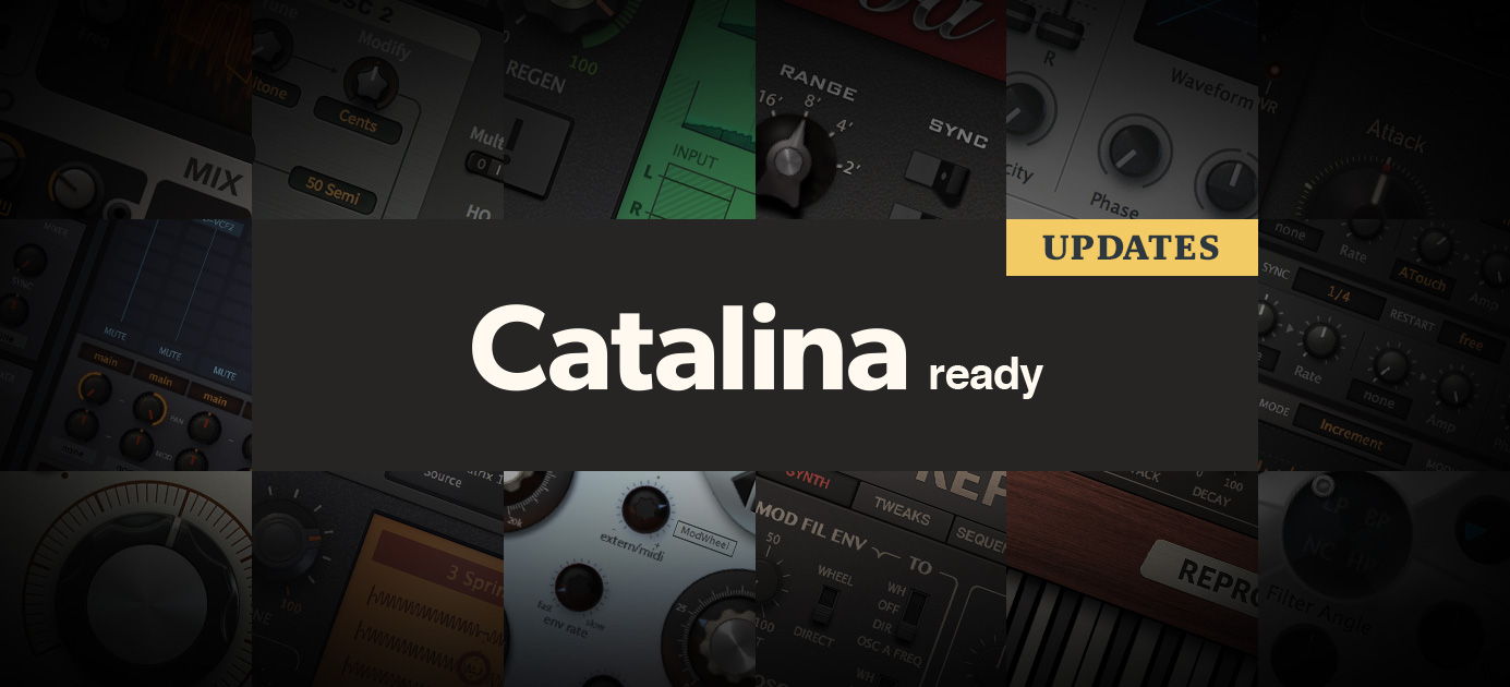 Catalina updates