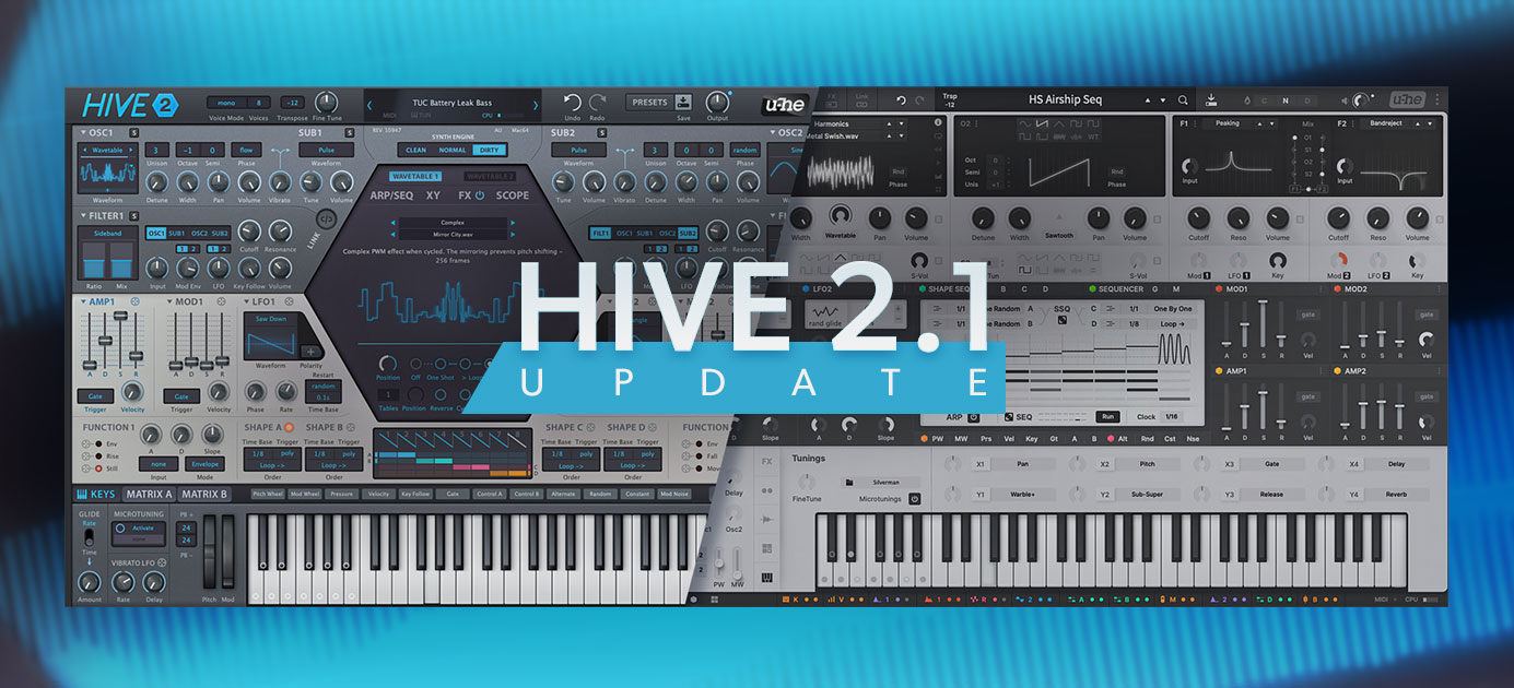 Hive 2.1 update released