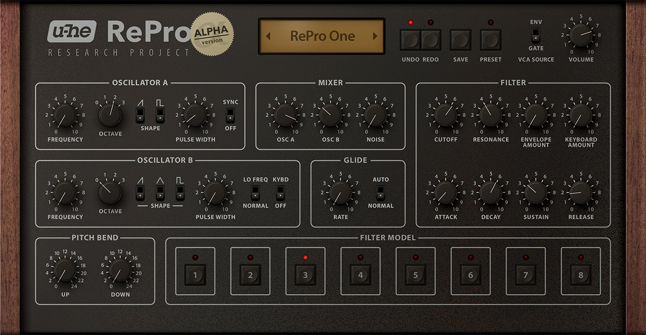 U Hecom Repro 1 Mono Synth Announced Audiosex Professional To Stereo Synthesizer Img
