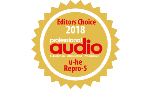 Professional Audio - Editors Choice