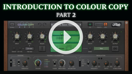 Introduction to Colour Copy (Part 2)