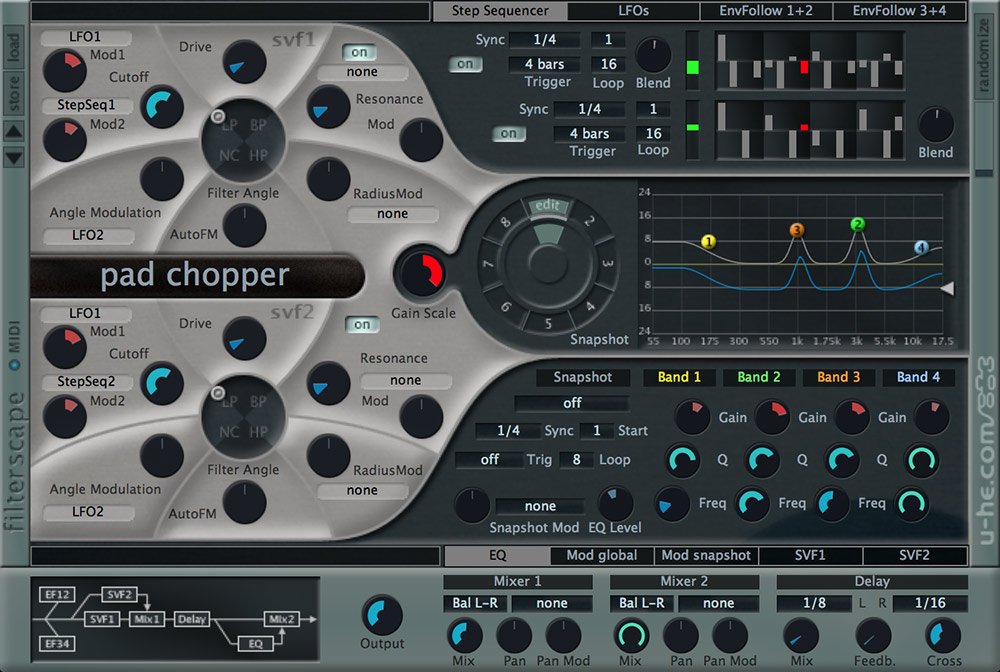 Filterscape: Sound mangling and filtering | u-he