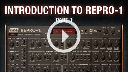 Introduction to Repro-1 - part 1
