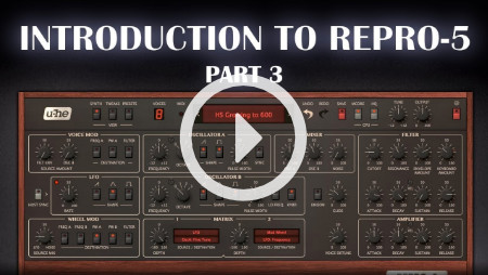 Introduction to Repro-5 - Part 3