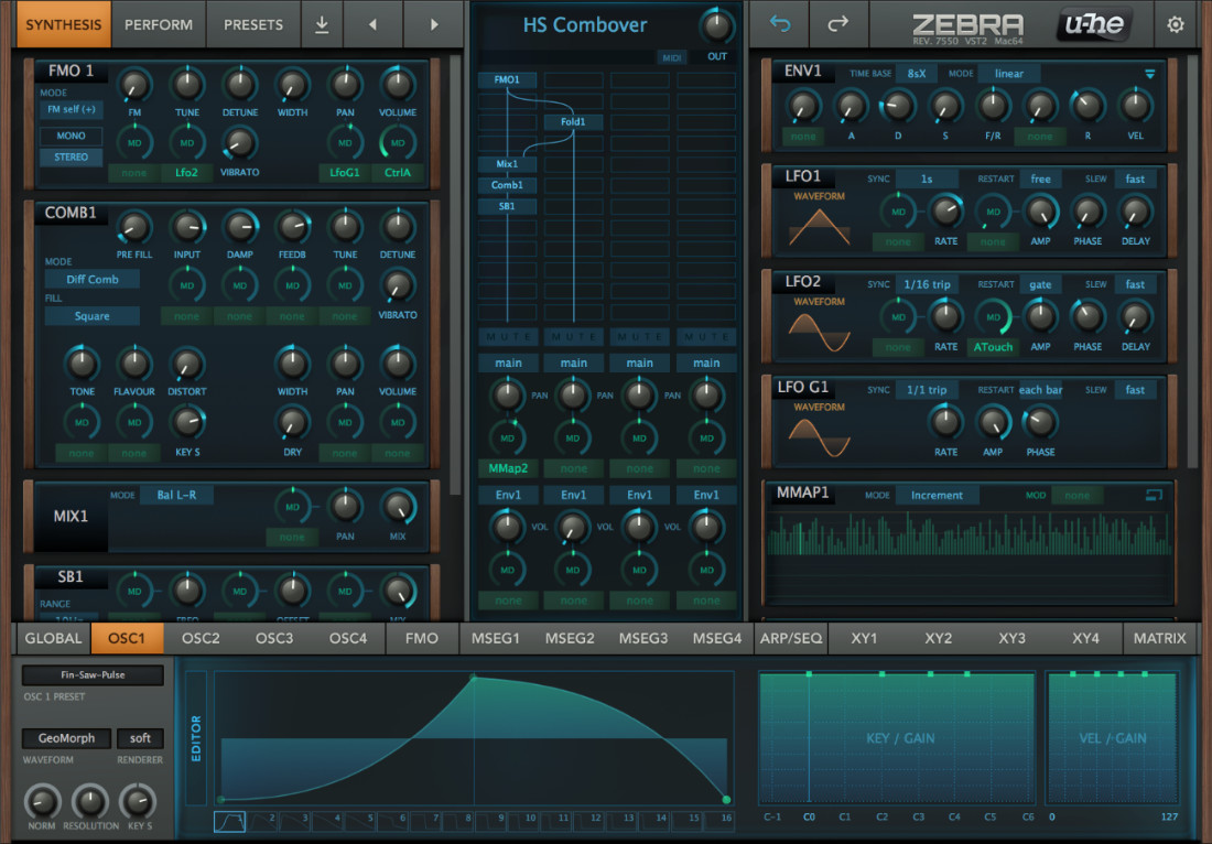 Zebra2: The workhorse synth | u-he