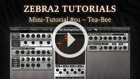 Zebra2 Mini-tutorial