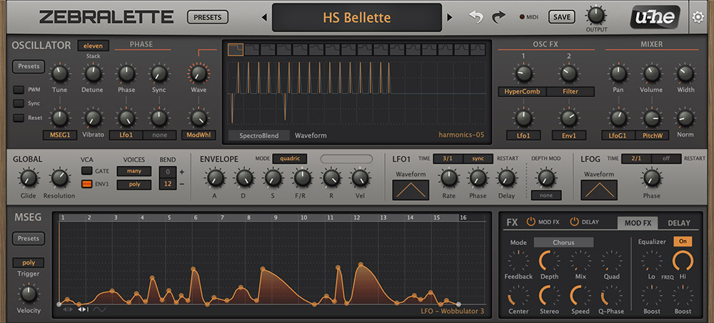 u he zebralette vst free download